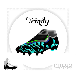 """""""Trinity"""" Cleat Mock-Up design 3/3 for Intego Sports"""