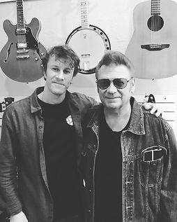 Dan with Asbury legend Sonny Kenn