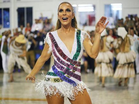 Coreógrafos revelam que Ivete Sangalo teve apagão no carnaval por causa de ansiedade