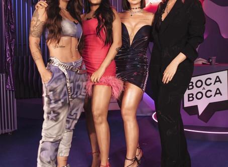Ex-BBB's Boca Rosa, Flay e Marcela fazem festa em apartamento com amigos