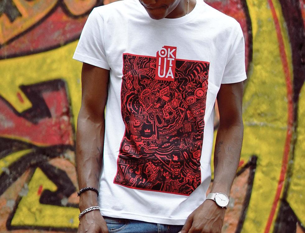 Abstract Okutua t-shirt