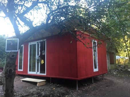 Eine neue Naturunterkunft für unsere Waldkinder