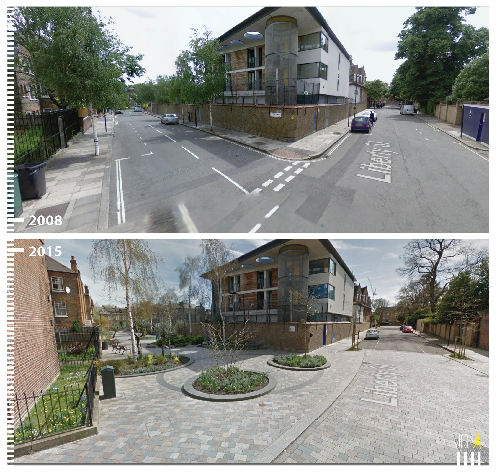 0953 UK London, Van Gogh Walkt