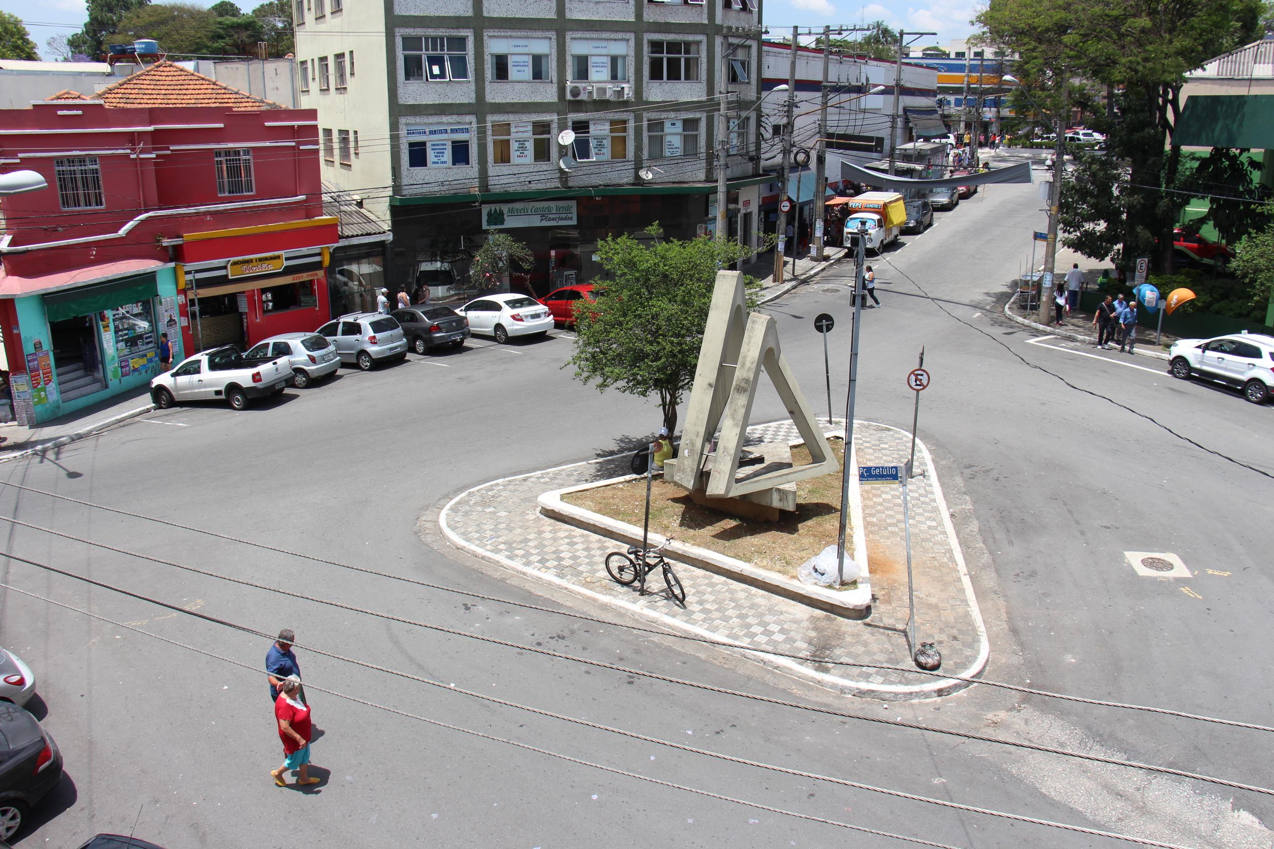 ANTES - Praça Getúlio Vargas Filho
