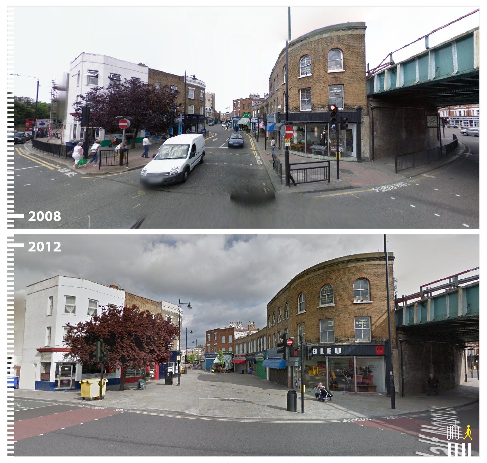0433 UK London Half Moon Lane