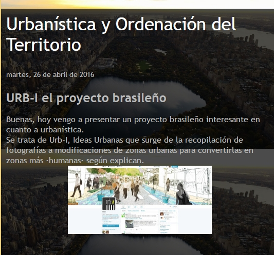 Urbanismoinquieto