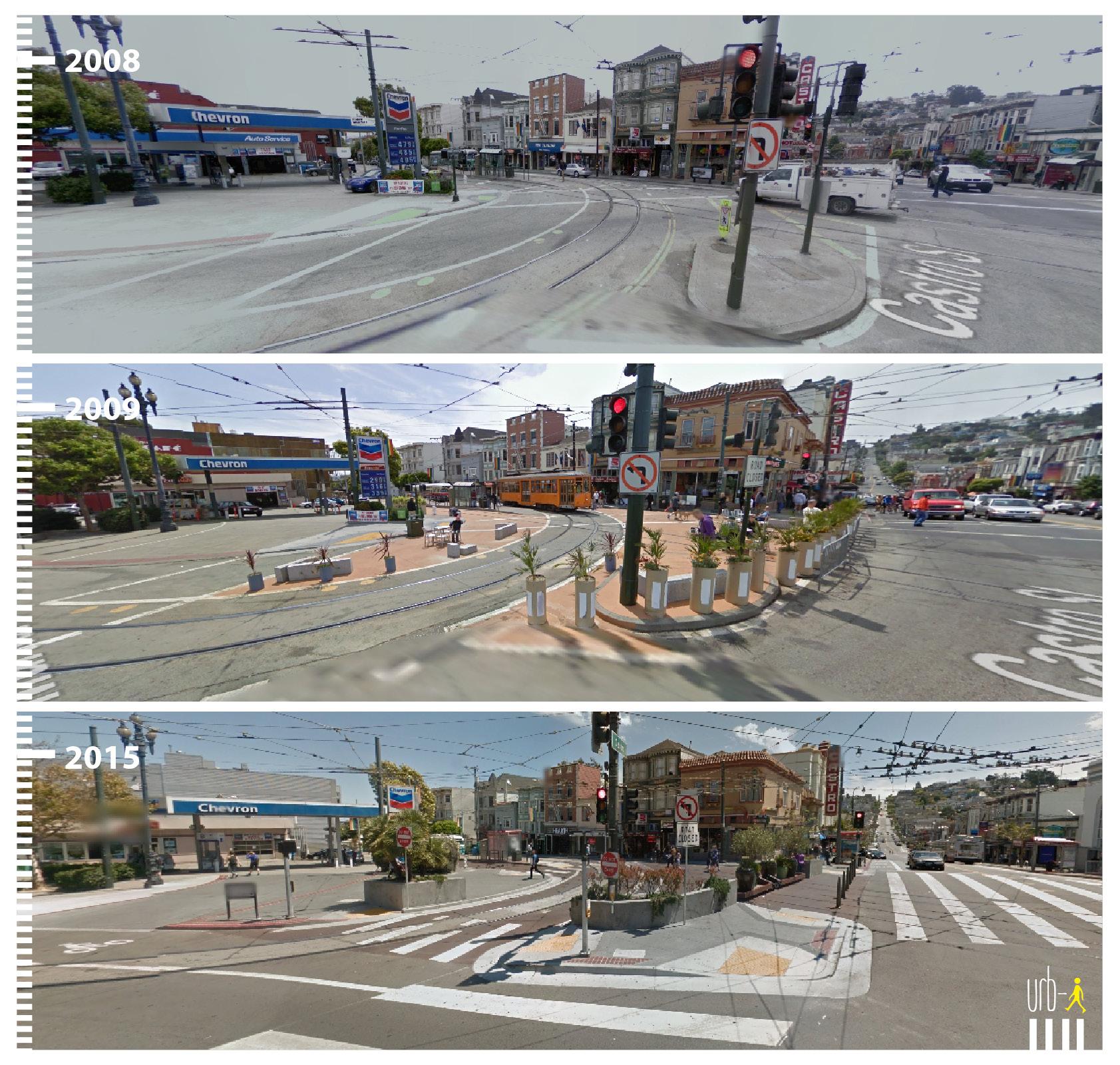 0618 US San Francisco, Castro st - Market st
