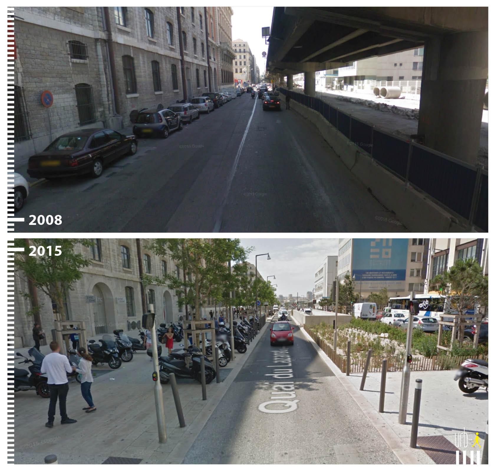 1921 FR Marseille, Quai du Lazaret