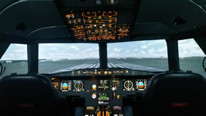 Airbus A320 Fixed Base Simulator