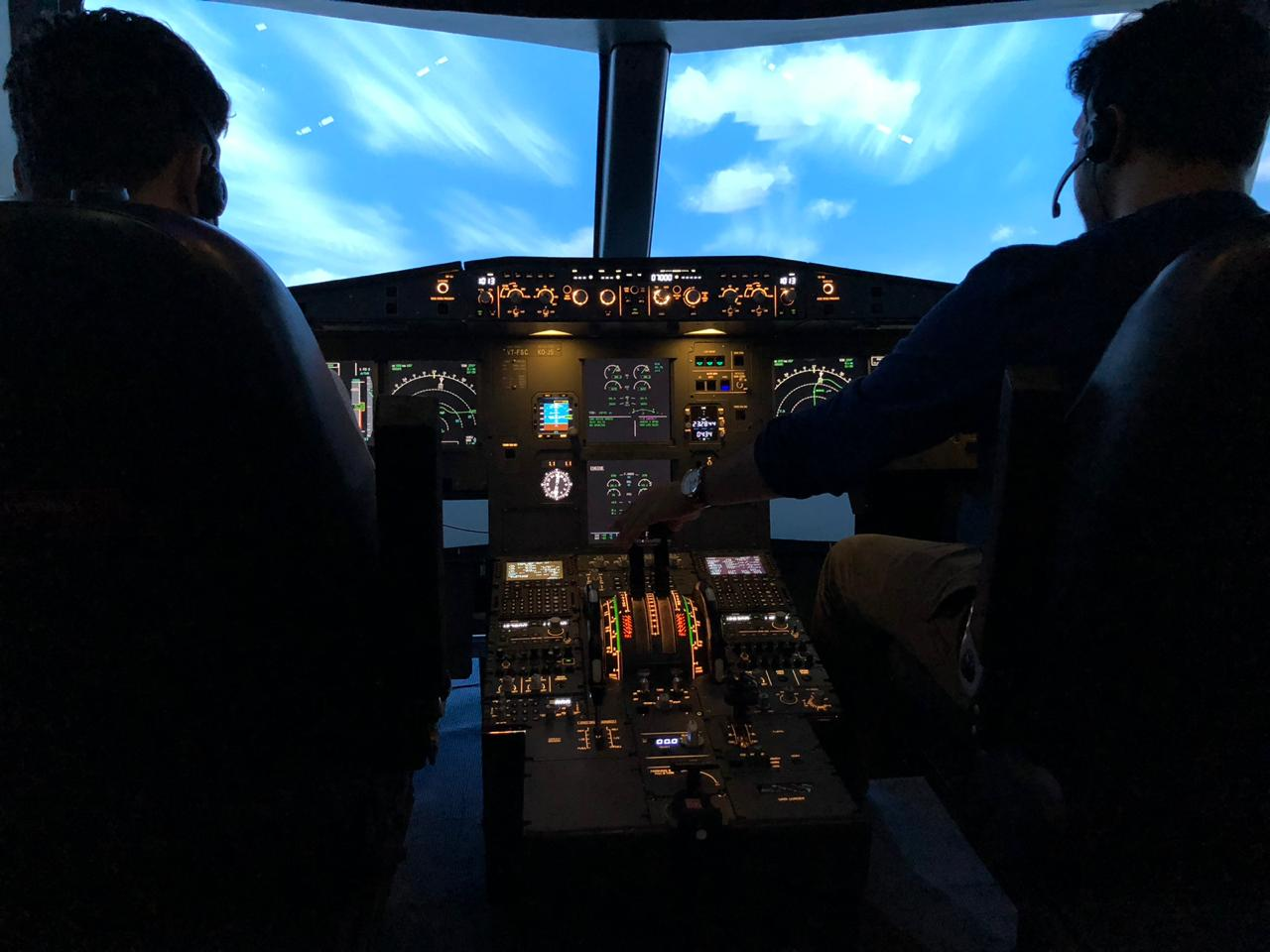 Airbus A320 Fixed Base Simulator
