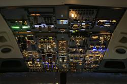 Boeing b737 overhead panel