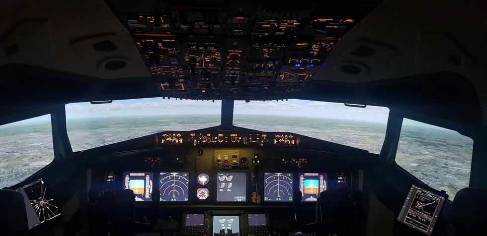 Boeing B737 Fixed Base Simulator