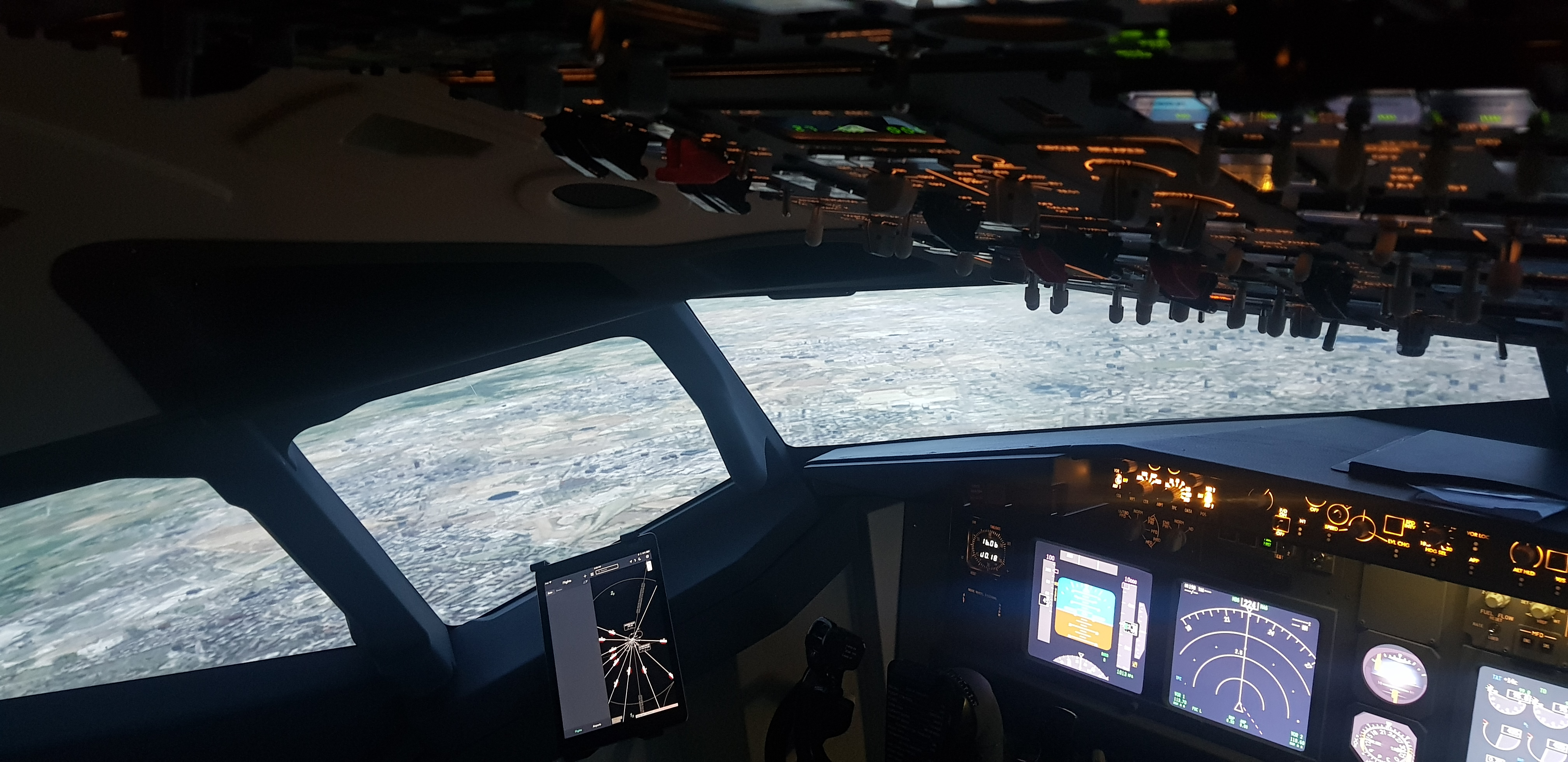 Boeing B737 Fixed Base Simulator