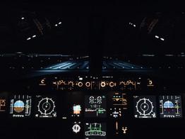 Night Visuals|Airbus A320 Fixed Base Simulator