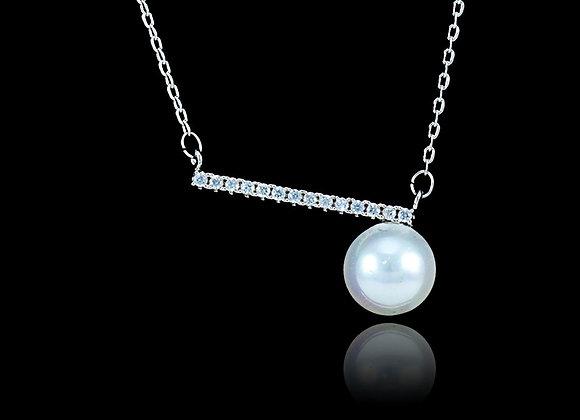 Pearl Necklace Cubic Zirconia