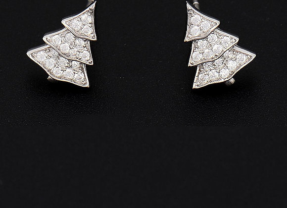 Earrings Cubic Zirconia With Gift Box
