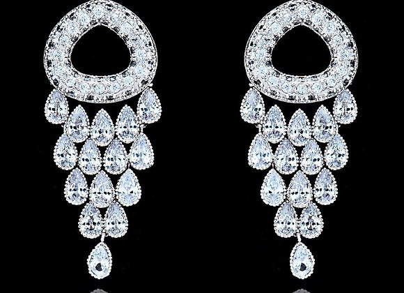 Earring Cubic Zirconia BZ With Gift Box