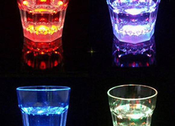 Plastic Led Colorful Beverage  Glass