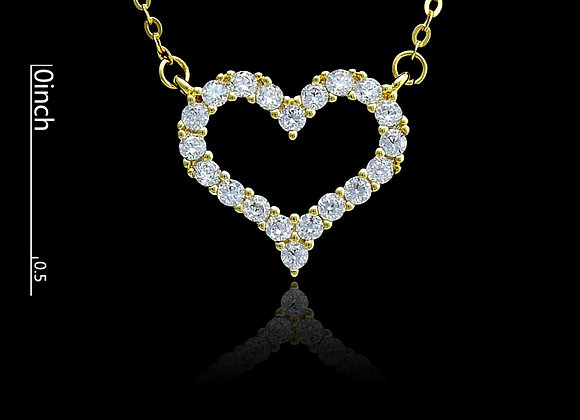 Heart Necklace With Gift Box