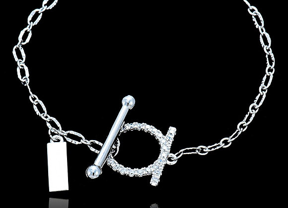 Elegant Fancy Bracelet CZ BZ With Gift Box