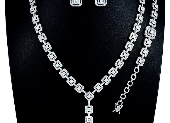 Elegant Necklace Four PC Set With Gift Box