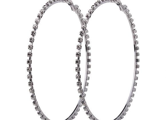Hoop Earrings 8cm With Gift Box