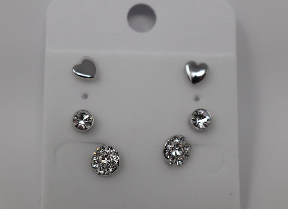Fashion Earrings Set SS With Gift Box