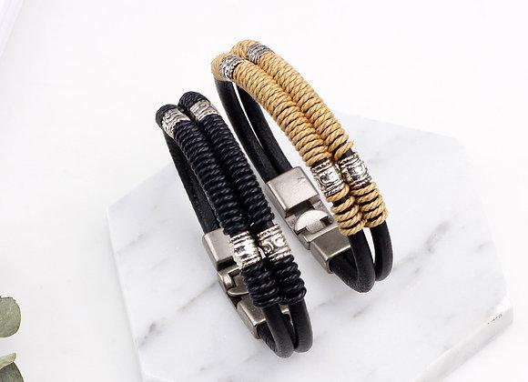 Unisex Zinc Alloy Two strand Bracelets