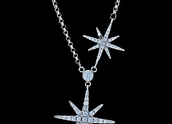 Necklace Cubic Zirconia BZ With Gift Box