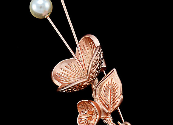 Brooches Fashion Pearl ZC-Alloy