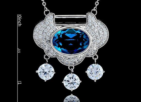 Swarovski Ele Necklace With Gift Box