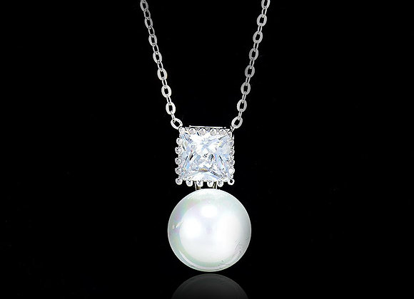 Pearl Fashion Necklace With Gift Box