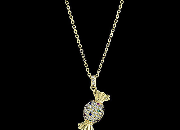 Necklace Cubic Zirconia With Gift Box