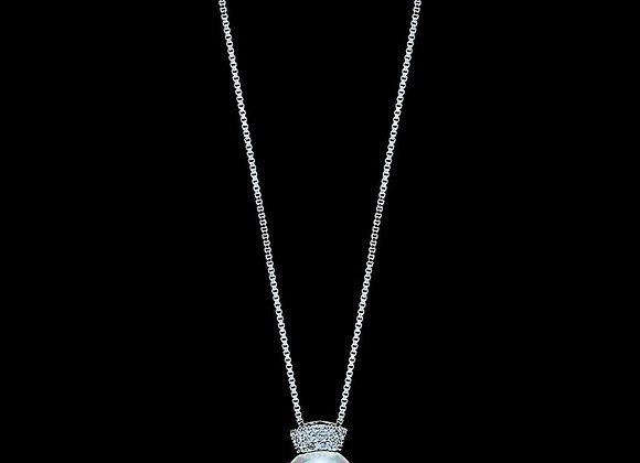 Necklace Long Cubic Zirconia With Gift Box