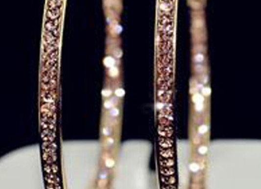 Hoop Earrings With Gift Box