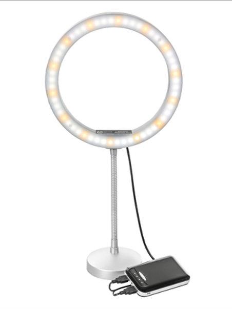 Stellar Diva Desktop USB-Powered LED Ringlight