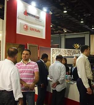 Sun Studio Dubai at INDEX 2012