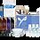 Thumbnail: EYEBROW PRECISION WAX & TINT KIT-Wholesale