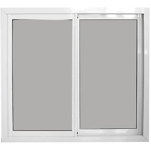Ventanas  Blancas de Almunio con Vidrio Reflectivo