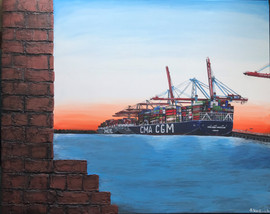 Heimatliebe - Hafen Hamburg