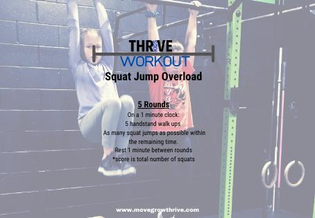 Squat Jump Overload!