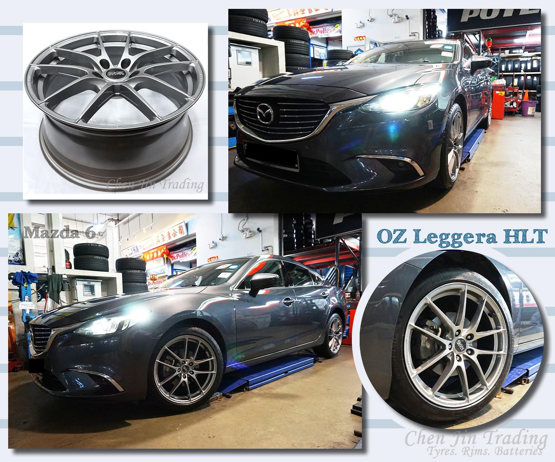 Leggera Mazda6 Grey