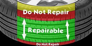 Tyre puncture repair, air leak repair