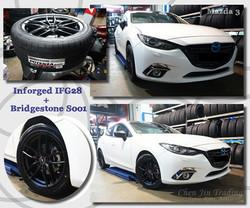 IFG28 Mazda3 White