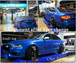 Audi Blue Align