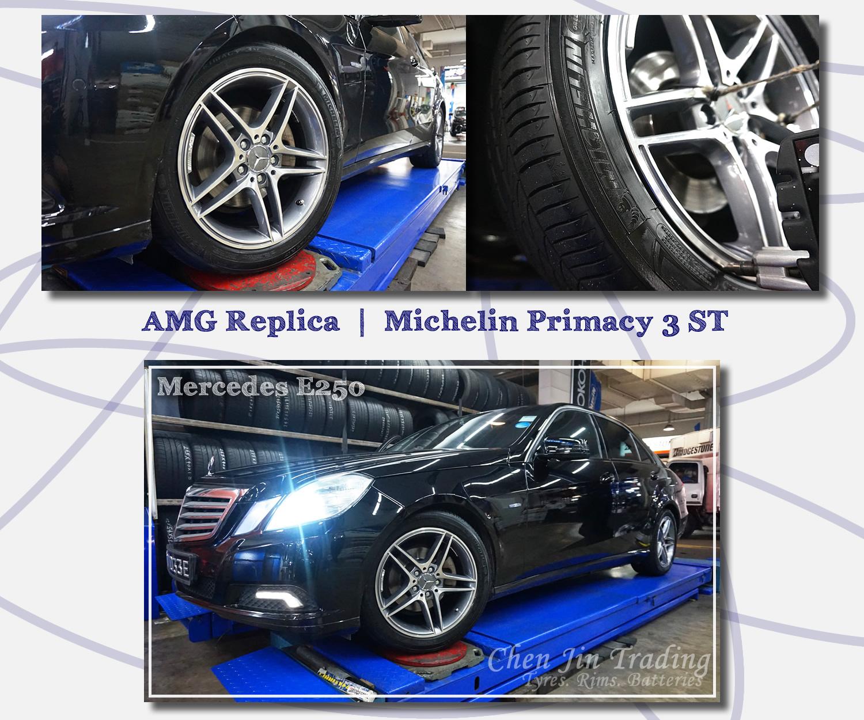 AMG E250 Black