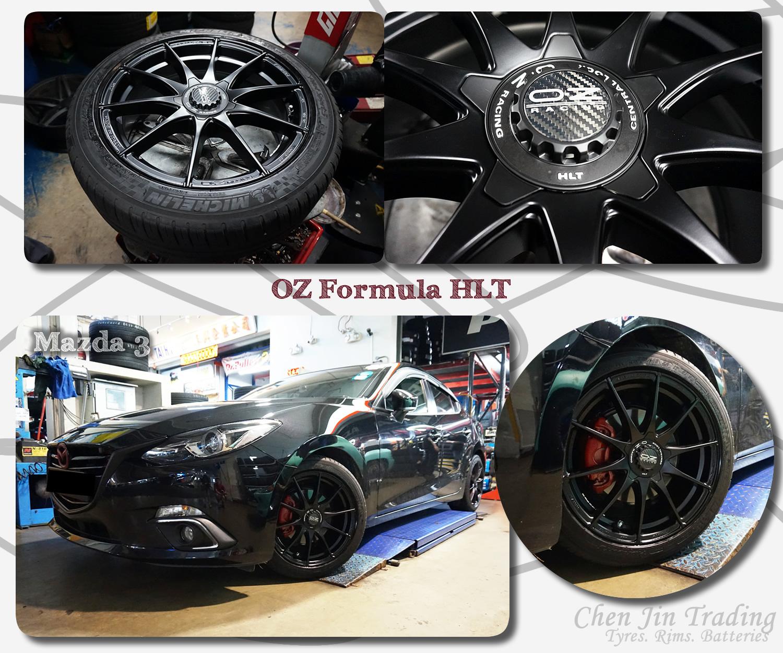 Formula Mazda3 Black