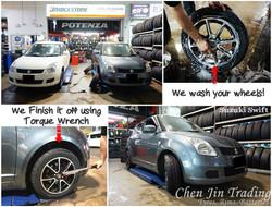 Suzuki Grey Bridgestone