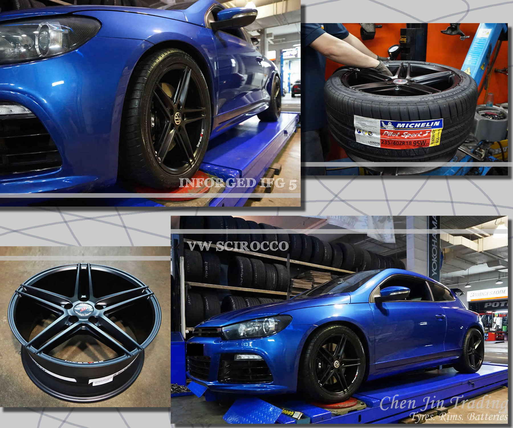 SCIROCCO BLUE INFORGED