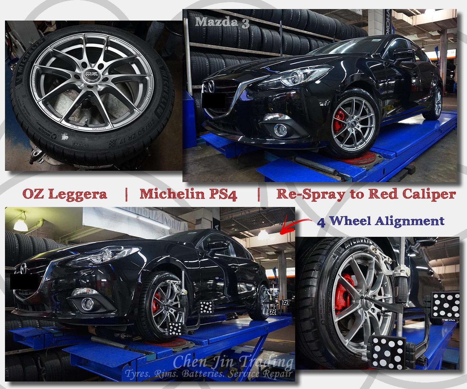 Leggera Mazda3 Black